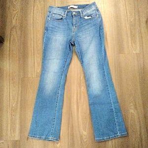 Levi's 515 boot cut hi rise jeans size 10